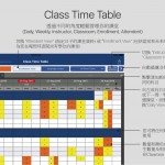 時間表概覽 Time Table Overview